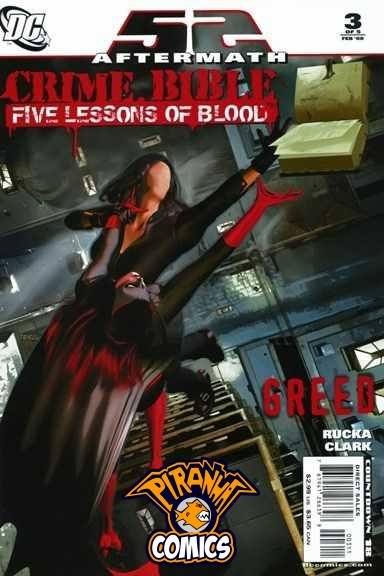 52 AFTERMATH: CRIME BIBLE - FIVE LESSONS OF BLOOD (2007) PRE-OWNED DC