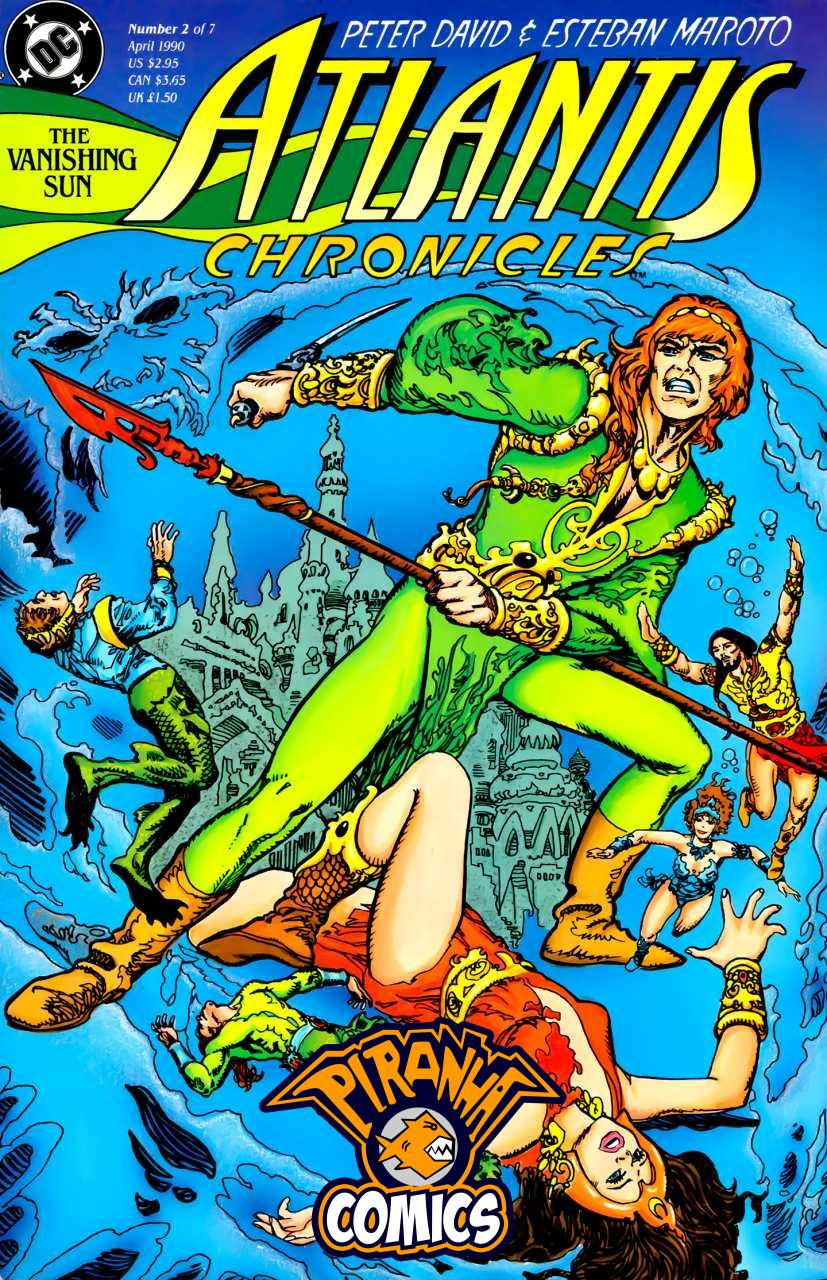 THE ATLANTIS CHRONICLES #2 (OF 7) (1990) PRE-OWNED DC