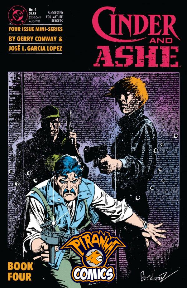 CINDER AND ASHE #4 (1988) PRE-OWNED DC