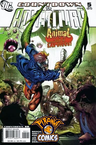 COUNTDOWN TO ADVENTURE #5 (OF 8) (2007) PRE-OWNED DC