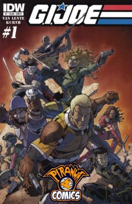 G.I. JOE #1 COVER B (2013) VF/NM IDW