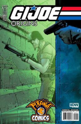 G.I. JOE: ORIGINS #9 COVER B (2009) VF/NM IDW