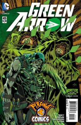 GREEN ARROW #45 MONSTERS MONTH VARIANT (2011) VF/NM DC