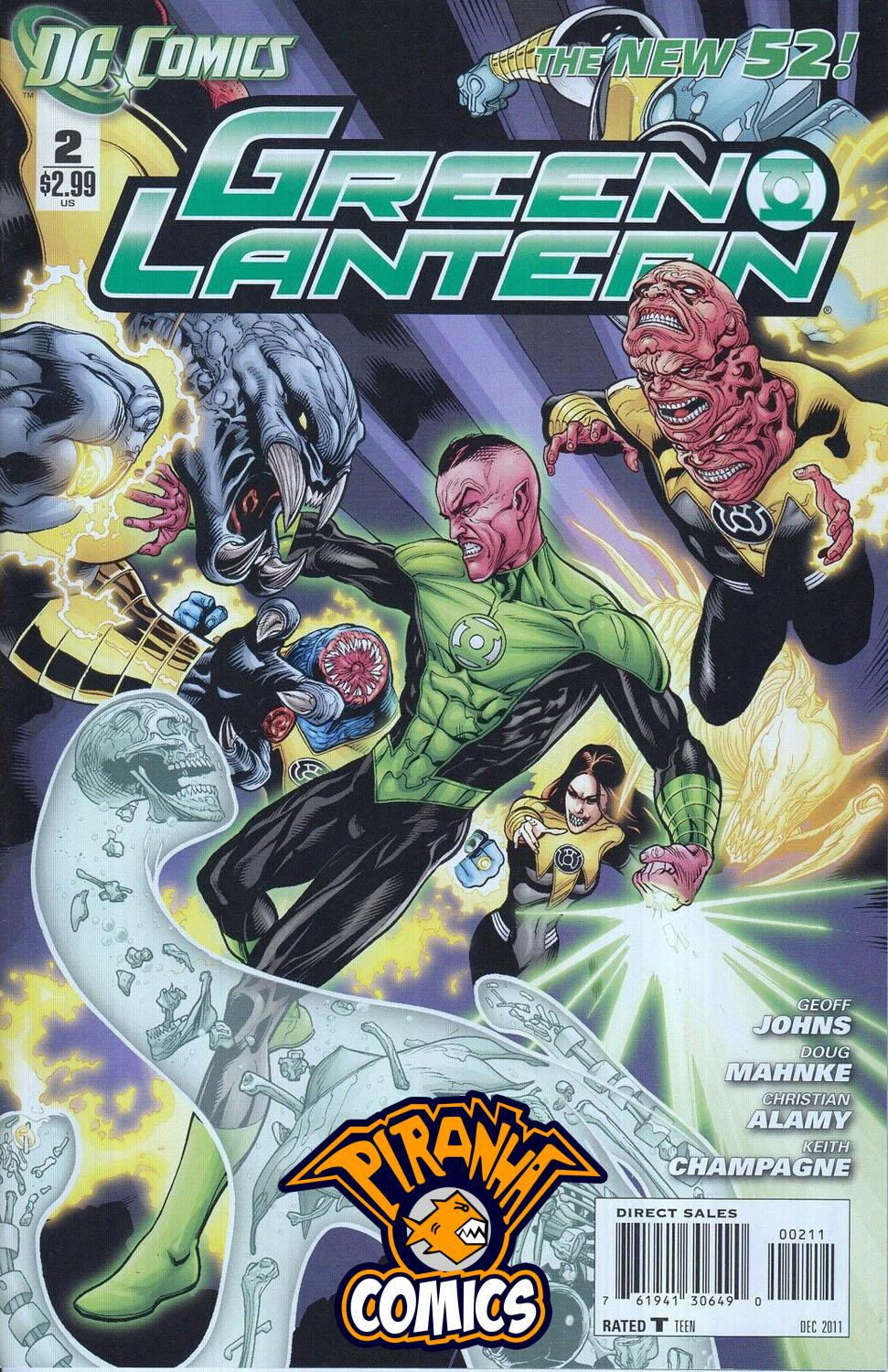 GREEN LANTERN #2 (2011) VF/NM DC