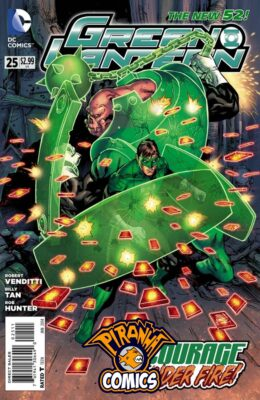 GREEN LANTERN #25 (2011) VF/NM DC