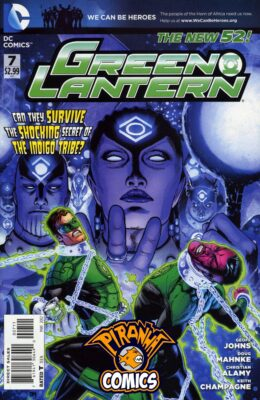GREEN LANTERN #7 (2011) VF/NM DC