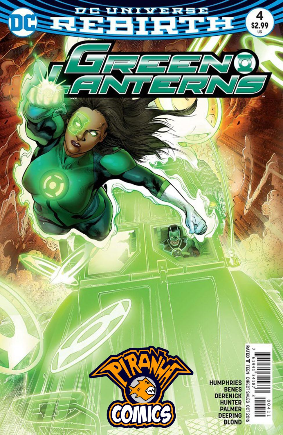 GREEN LANTERNS #4 (2016) VF/NM DC