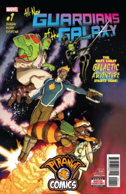 ALL NEW GUARDIANS OF THE GALAXY #1 (2017) VF/NM MARVEL