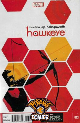 HAWKEYE #13 (2012) VF/NM MARVEL