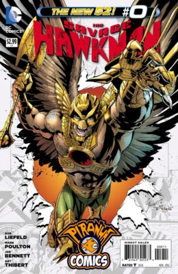 SAVAGE HAWKMAN #0 (2011) VF/NM DC