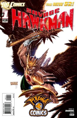 SAVAGE HAWKMAN #1 (2011) VF/NM DC