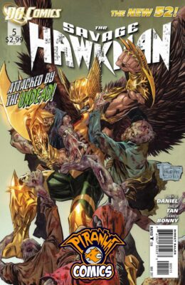 SAVAGE HAWKMAN #5 (2011) VF/NM DC