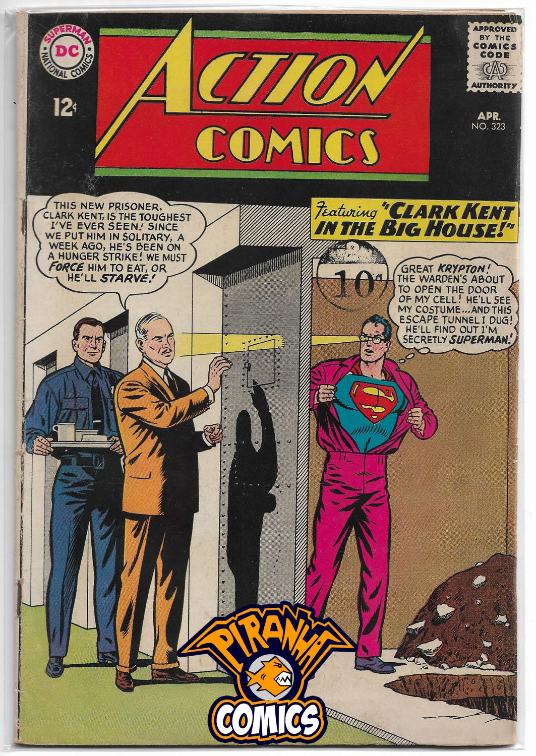 ACTION COMICS #323 (1938) GD DC
