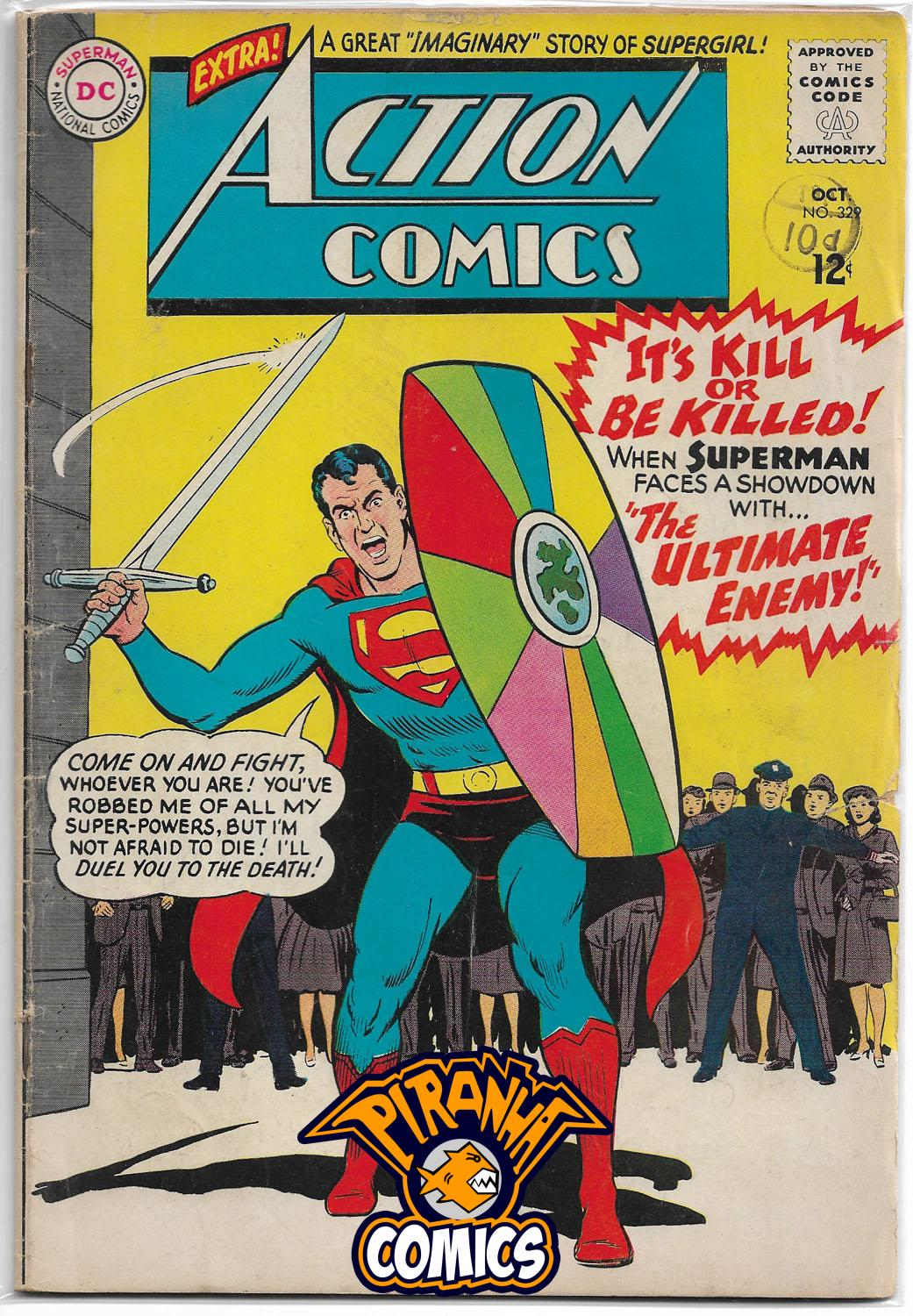 ACTION COMICS #329 (1938) FR/GD DC