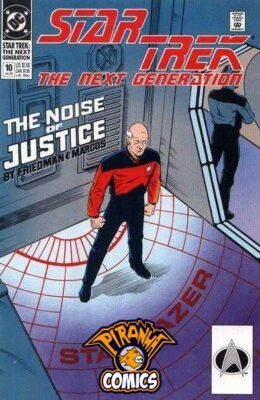 STAR TREK: THE NEXT GENERATION #10 (1989) VF DC
