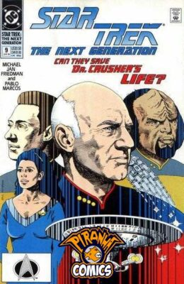 STAR TREK: THE NEXT GENERATION #9 (1989) VF DC