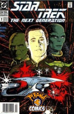 STAR TREK: THE NEXT GENERATION #7 (1989) VF DC