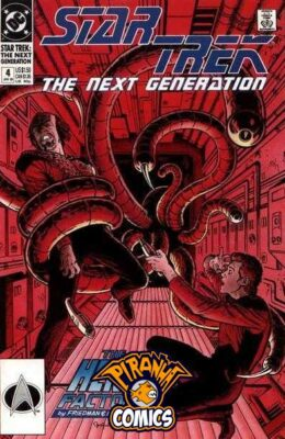 STAR TREK: THE NEXT GENERATION #4 (1989) VF DC