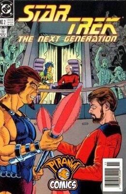 STAR TREK: THE NEXT GENERATION #2 (1989) VF DC