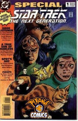 STAR TREK: THE NEXT GENERATION SPECIAL #1 (1993) VF/NM DC