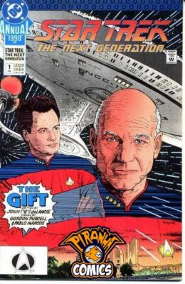 STAR TREK: THE NEXT GENERATION ANNUAL #1 (1990) GD DC