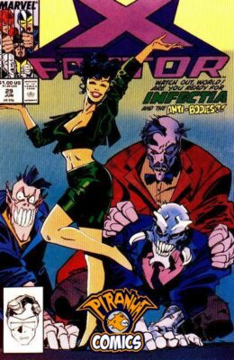 X-FACTOR #29 (1986) VF MARVEL