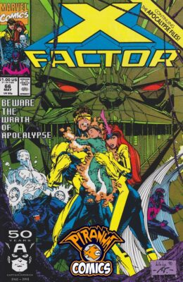 X-FACTOR #66 (1986) PRE-OWNED MARVEL
