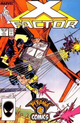 X-FACTOR #17 (1986) VF MARVEL