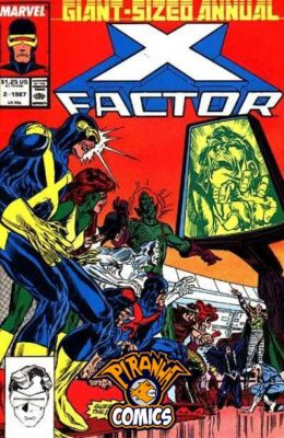 X-FACTOR ANNUAL #2 (1987) VF MARVEL