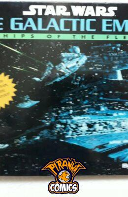 STAR WARS: THE GALACTIC EMPIRE - SHIPS OF THE FLEET POP-UP BOOK USED GOOD BOXTREE