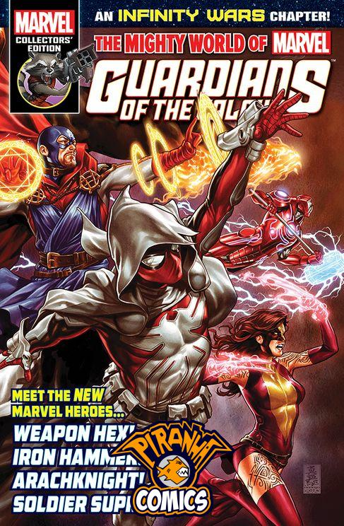 MIGHTY WORLD OF MARVEL #21 (2017) PRE-OWNED PANINI