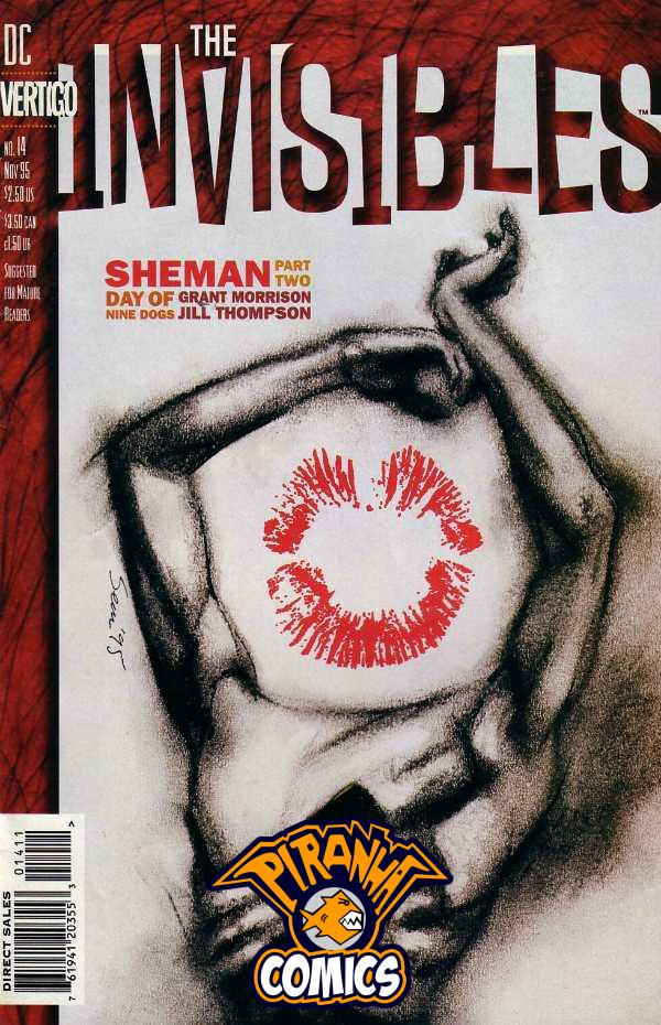 INVISIBLES #14 (1994) VF/NM VERTIGO