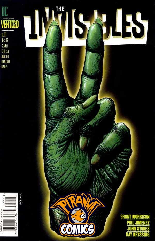INVISIBLES #11 (1997) VF VERTIGO