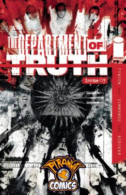 DEPARTMENT OF TRUTH #3 CVR A PRE-ORDER 25/11/20 VF/NM IMAGE