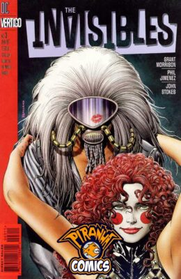 THE INVISIBLES #3 (1997) FN VERTIGO