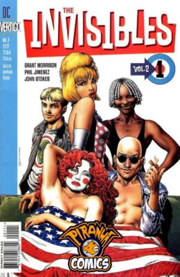 THE INVISIBLES #1 (1997) FN VERTIGO