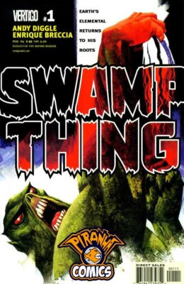 SWAMP THING #1 (2004) FN+ VERTIGO