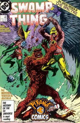 SWAMP THING #58 (1982) VF/NM DC