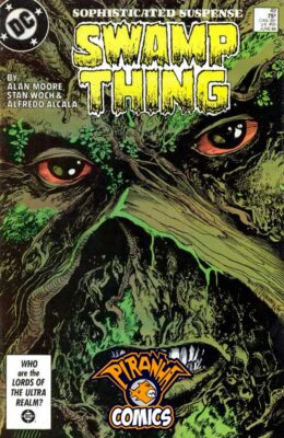 SWAMP THING #49 (1982) FN- DC