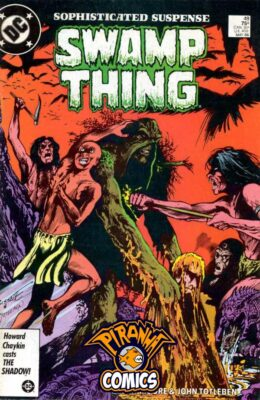 SWAMP THING #48 (1982) VF DC