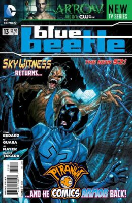 BLUE BEETLE #13 (2011) VF/NM DC
