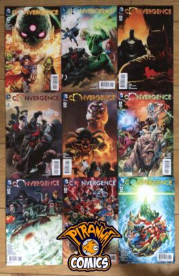 CONVERGENCE #0-8 COMPLETE SET VF/NM DC
