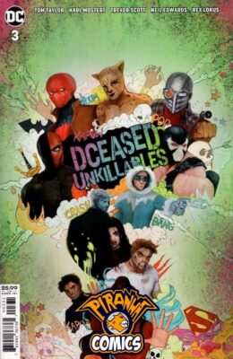 DCEASED: UNKILLABLES #3 MOVIE HOMAGE CARD STOCK VARIANT (2020) VF/NM DC