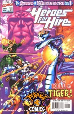 HEROES FOR HIRE #15 (1997) VF/NM MARVEL