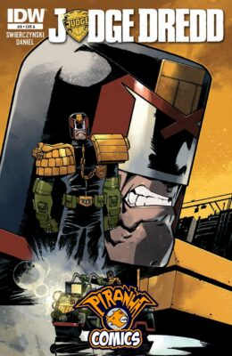 JUDGE DREDD #9 (2012) VF/NM IDW